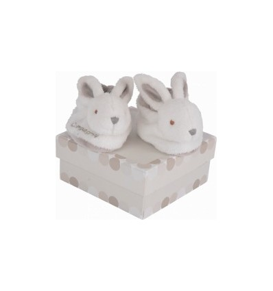 Chaussons Lapin Beige