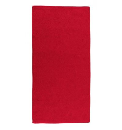 Drap de Bain assorti FIRST 100X150 (400g/m2) Rouge
